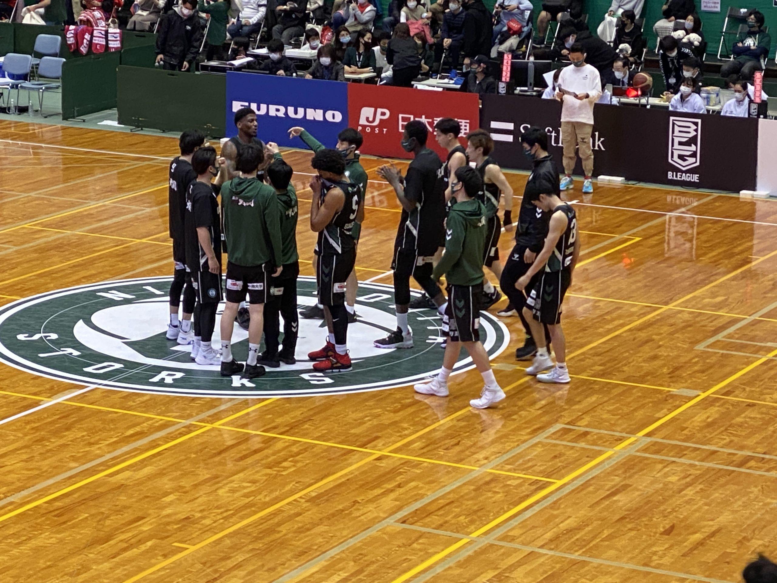 2021-03-27 西宮ストークス対熊本ヴォルターズ